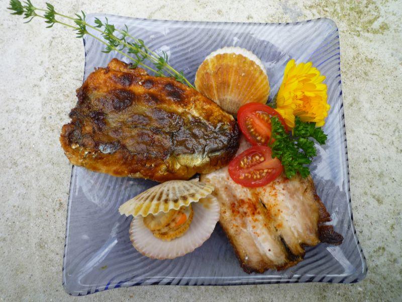 Filets de sardines grillés à l'unilatérale. | Bonnes choses